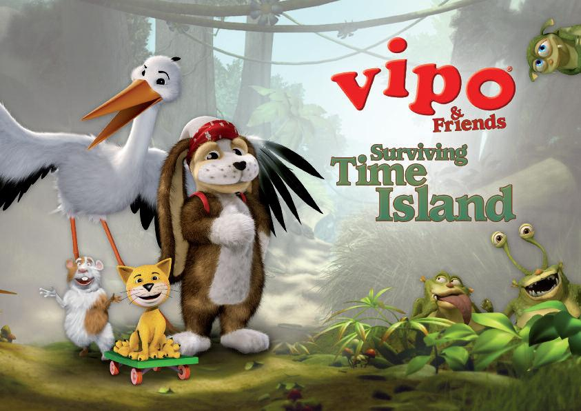 Adventures on Time Island with VIPO & Friends