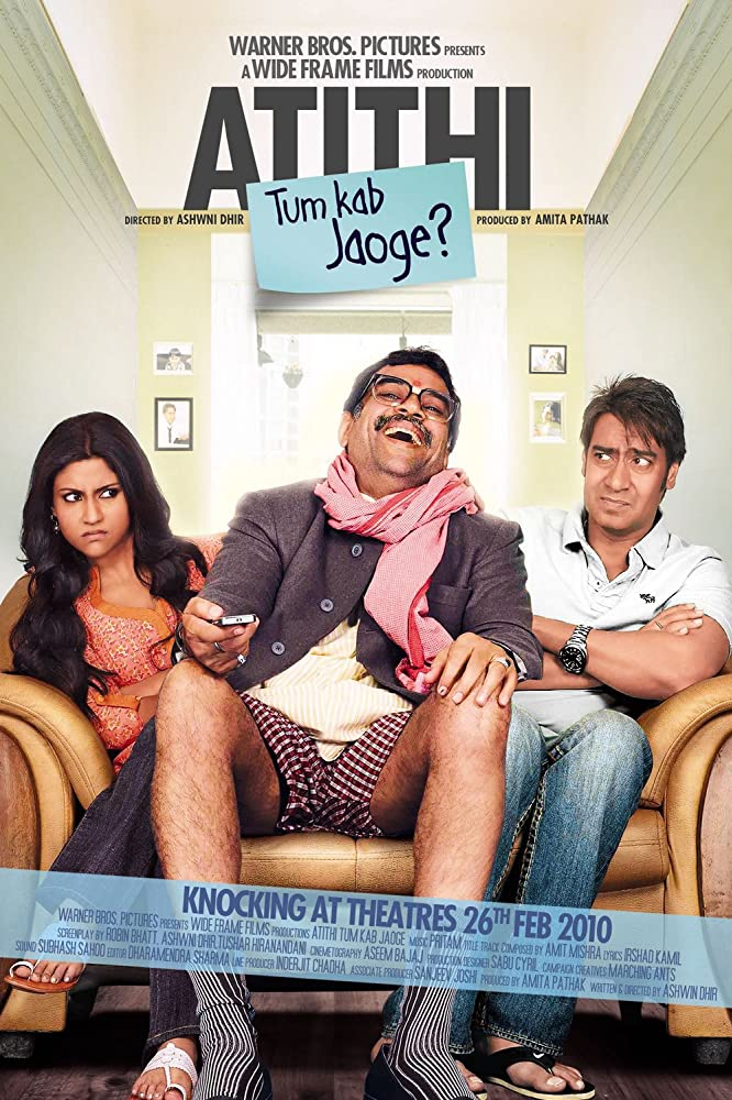 Atithi Tum Kab Jaoge 2010 720p DVDRip Watch Online Free Download HD At Movies365.in