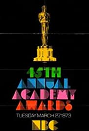 The 45th Annual Academy Awards Poster