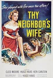 Thy Neighbor's Wife Poster