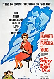 The Story on Page One(1959) Poster - Movie Forum, Cast, Reviews