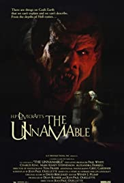 The Unnamable (1988) Poster - Movie Forum, Cast, Reviews