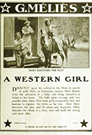 A Western Girl Poster