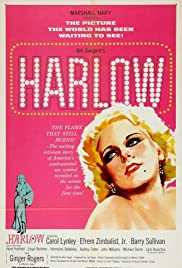 Harlow (1965) Poster - Movie Forum, Cast, Reviews