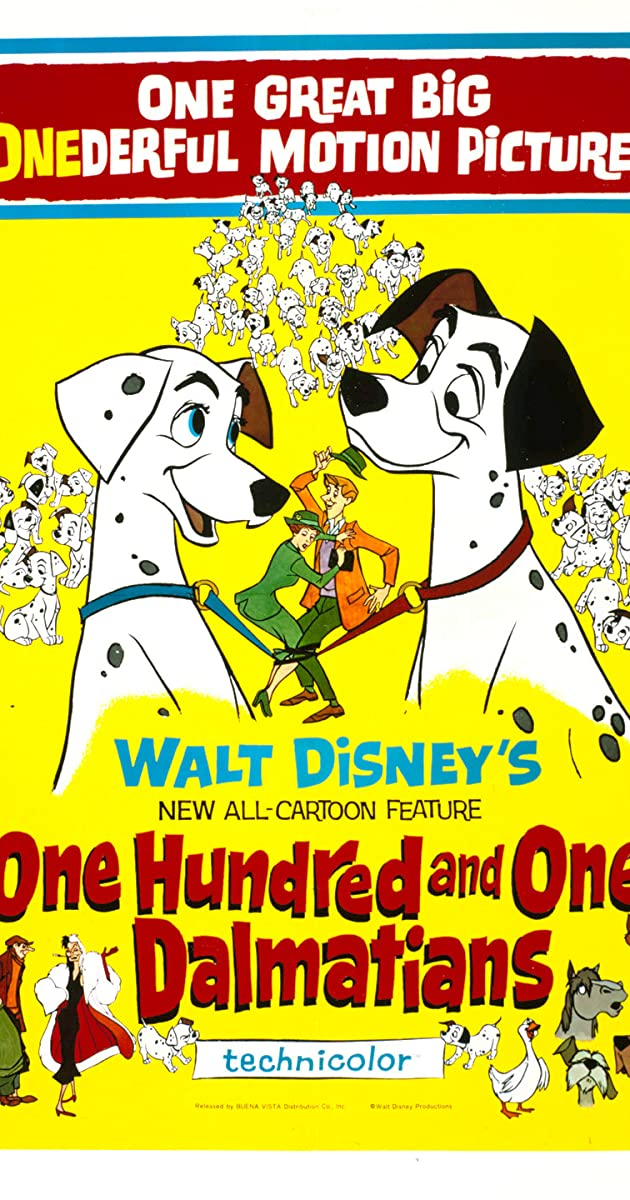 101 dalmantinas / One Hundred and One Dalmatians (1961) Online