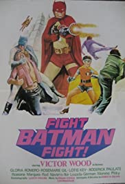 Fight! Batman, Fight! Poster