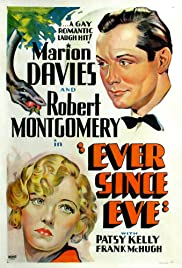Ever Since Eve (1937) Poster - Movie Forum, Cast, Reviews