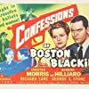 Harriet Nelson, Richard Lane, Kenneth MacDonald, Chester Morris, and Walter Sande in Confessions of Boston Blackie (1941)