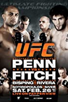 UFC 127: Penn vs. Fitch (2011) Poster