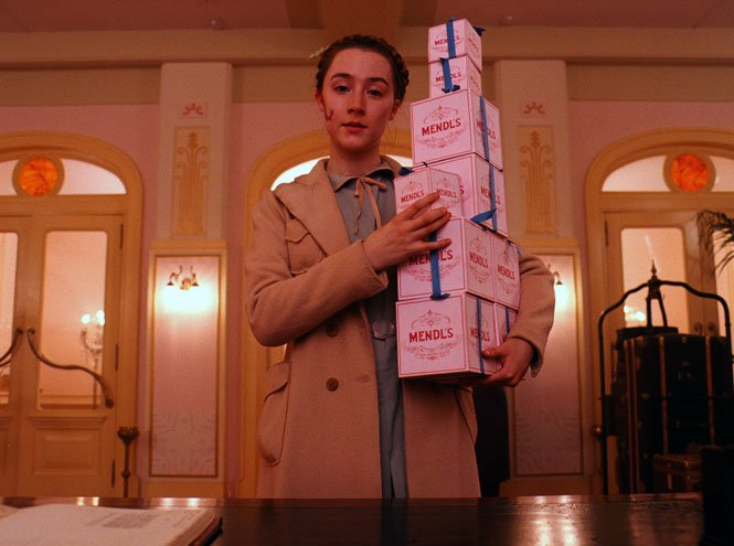 Image result for saoirse ronan grand budapest hotel