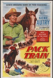 Pack Train Poster