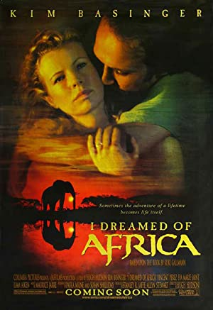 I Dreamed of Africa Pelicula Poster