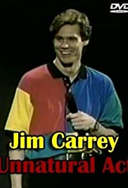 Jim Carrey: Unnatural Act (1991) Poster - TV Show Forum, Cast, Reviews