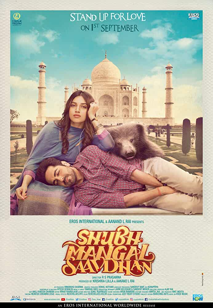 Poster Shubh Mangal Saavdhan (2017) Full Hindi Movie Download Free 720p