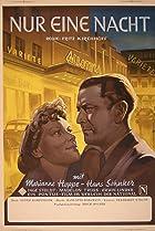 Nur eine Nacht (1950) Poster
