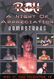 ROH: Night of Appreciation Poster