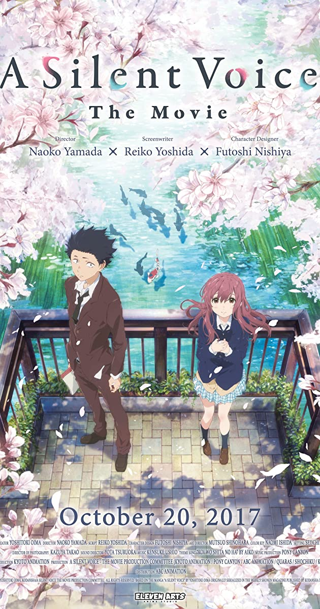 Koe no katachi 2016 imdb for Koi no katachi