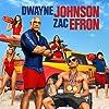 Dwayne Johnson, Priyanka Chopra, Alexandra Daddario, Zac Efron, Ilfenesh Hadera, Jon Bass, and Kelly Rohrbach in Baywatch (2017)