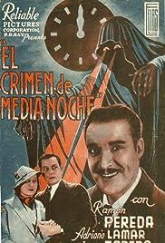 El crimen de media noche Poster