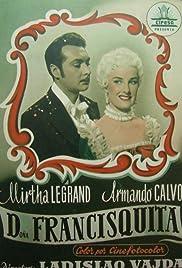 Doña Francisquita Poster
