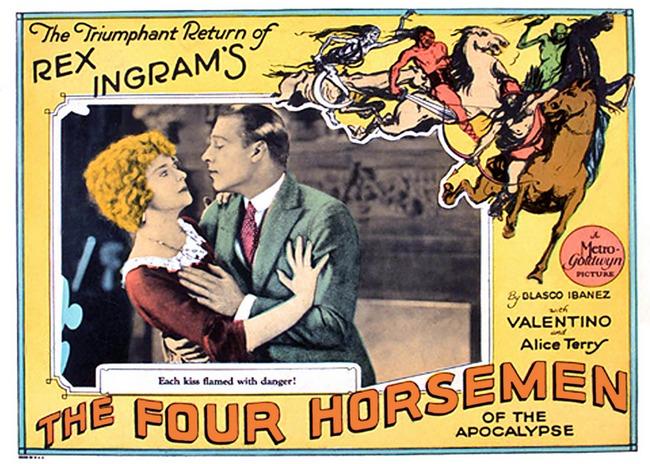 Αποτέλεσμα εικόνας για The Four Horsemen of the Apocalypse (1921)