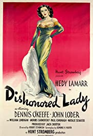 Dishonored Lady (1947) Poster - Movie Forum, Cast, Reviews