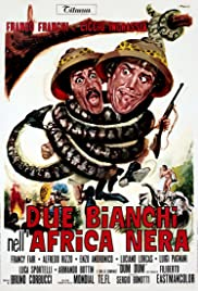 Due bianchi nell'Africa nera Poster