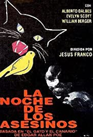 La noche de los asesinos (1974) Poster - Movie Forum, Cast, Reviews