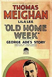 Old Home Week Poster
