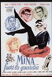 Mina... fuori la guardia Poster