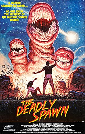 The Deadly Spawn poster