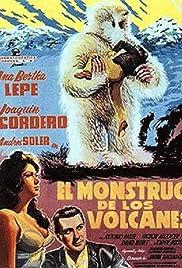 El monstruo de los volcanes Poster