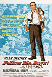 Follow Me, Boys! (1966) Poster - Movie Forum, Cast, Reviews