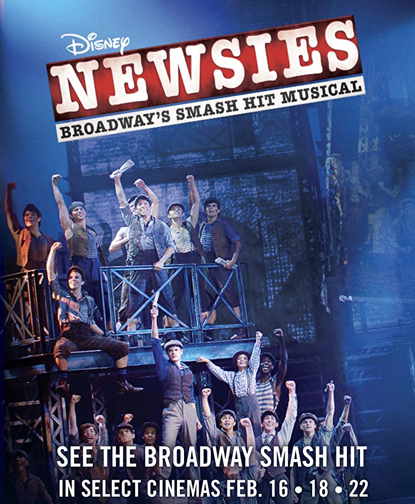 Disney's Newsies the Broadway Musical (2017)