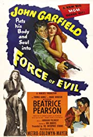 Force of Evil (1948) Poster - Movie Forum, Cast, Reviews