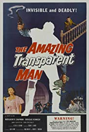 The Amazing Transparent Man (1960) Poster - Movie Forum, Cast, Reviews