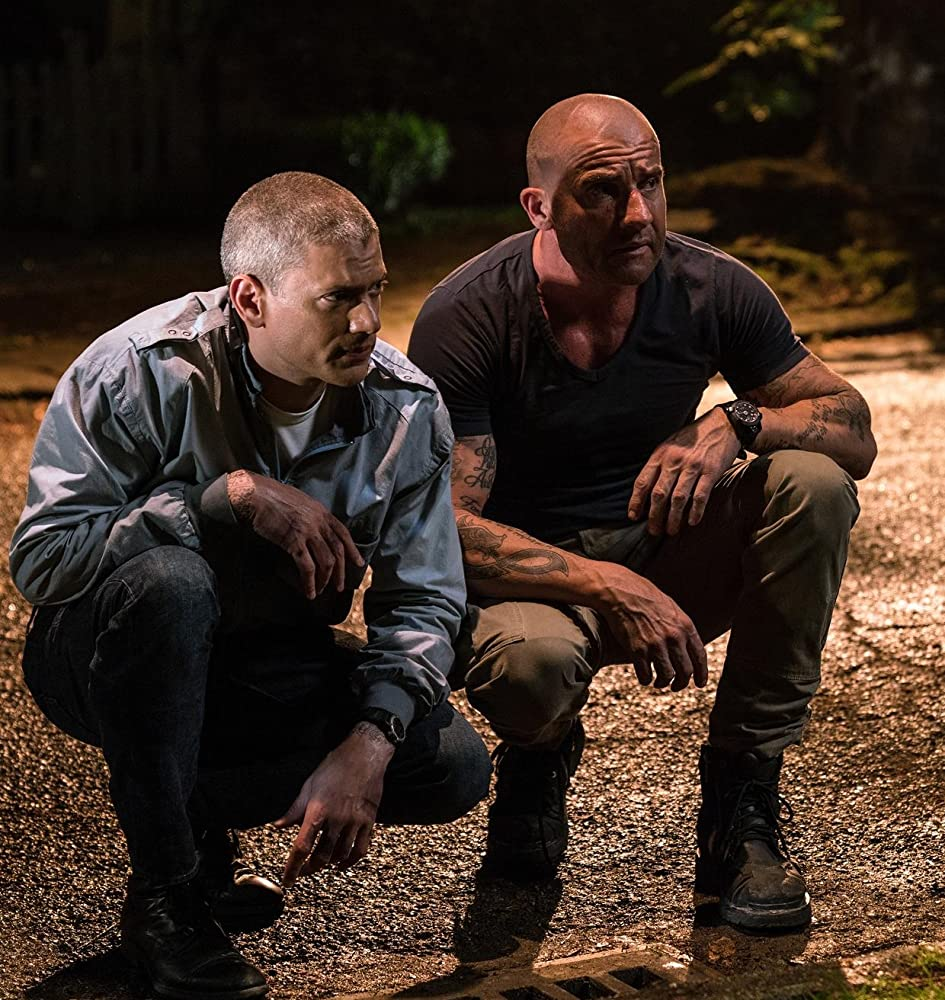 Progenie en Prison Break S05E08 Preview