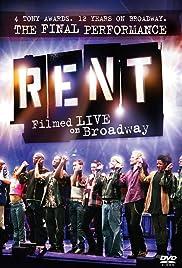 Rent: Filmed Live on Broadway(2008) Poster - Movie Forum, Cast, Reviews
