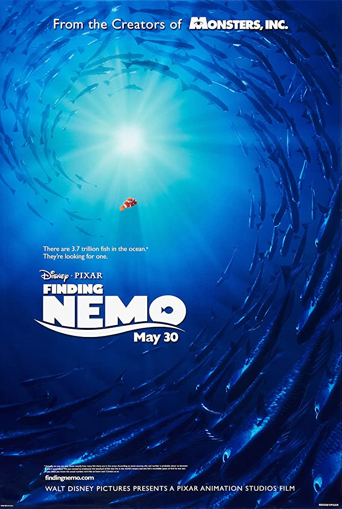 Finding Nemo (2003) Cover