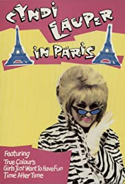 Cyndi Lauper in Paris Poster