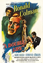 A Double Life (1947) Poster - Movie Forum, Cast, Reviews