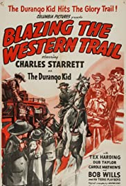 Blazing the Western Trail Poster