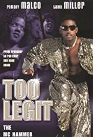 Too Legit: The MC Hammer Story Poster