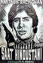 Saat Hindustani (1969) Poster - Movie Forum, Cast, Reviews
