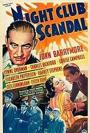 Night Club Scandal Poster
