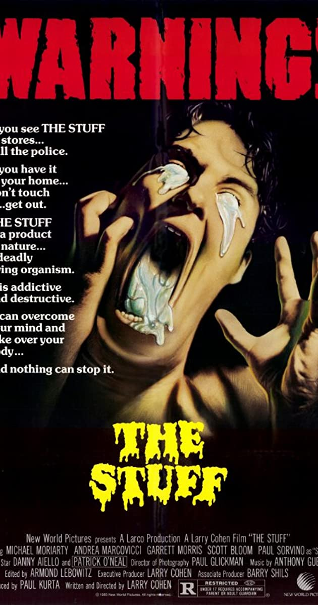 The stuff 1985 imdb for What was the name of that movie