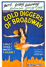 Gold Diggers of Broadway Poster