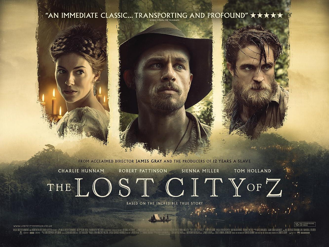 The Lost City of Z (2016), filme online HD subtitrat în Română