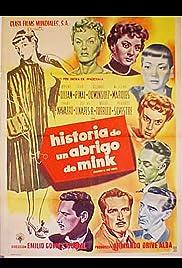 Historia de un abrigo de mink Poster