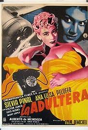 La adúltera Poster